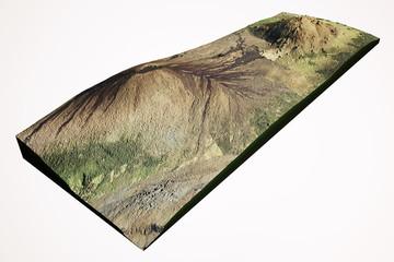 Mauna Kea e Mauna Loa vulcano Hawaii