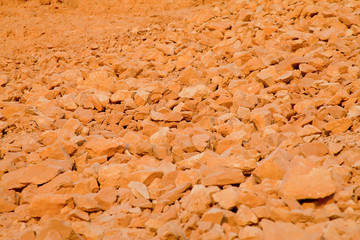 Limestone rocks background