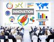 Business People Seminar Creativity Success Innovation Concept
