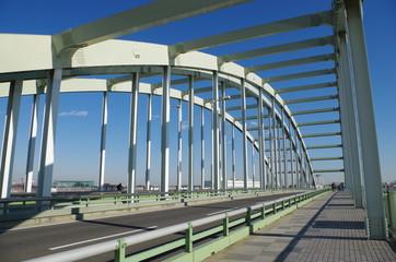 多摩水道橋の道