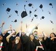 Student Celebration Education Graduation Happiness Concept