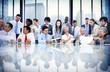Business People Meeting Conversation Communication Concept