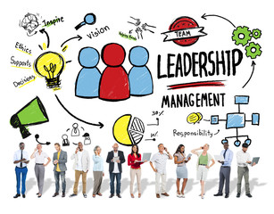 Diversity People Leadership Management Digital Devices Concept