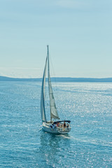 Sailing Adriatic sea