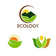 nature ecology logos