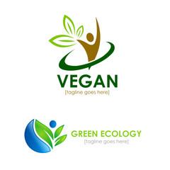 vegetarian logos
