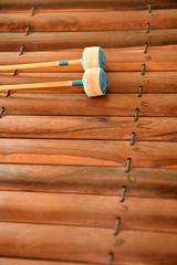 Thai musical instrument (Alto xylophone)
