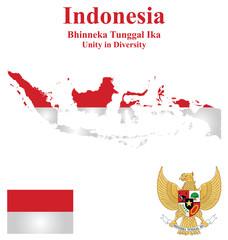 Republic of Indonesia flag