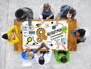 Ethnicity People Communication DIscussion Recruitment Concept