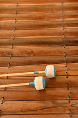 Thai musical instrument (Alto xylophone)
