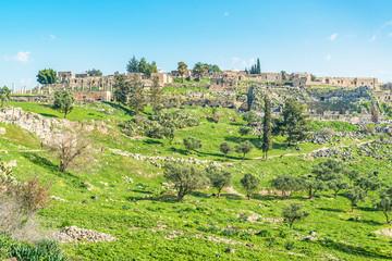 Umm Qais in northern Jordan near the site of Gadara
