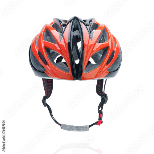 Deurstickers Fietsen Bicycle mountain bike safety helmet