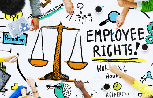 Employee Rights Employment Equality Job People Meeting Concept - 76459541