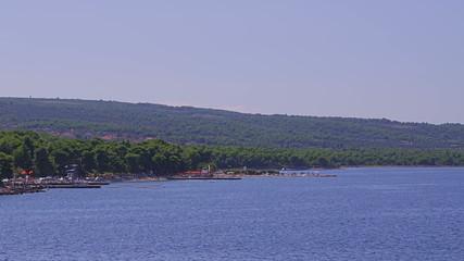 Island Brac coastal