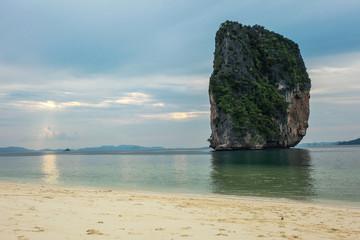 Beautiful Beach in Poda Island, Krabi