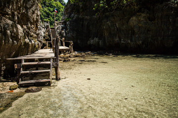 Clean and Clear River in Krabi, Thailand