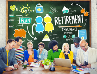 Diversity Casual People Employee Retirement Learning Brainstormi
