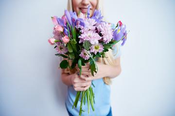 Bunch of beautiful flowers