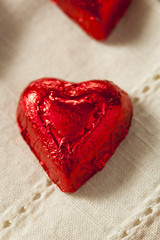 Chocolate Candy Heart Sweets
