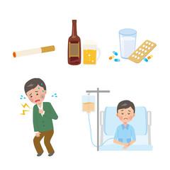 男性 癌 たばこ お酒