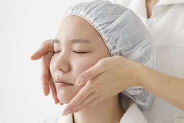 Massage of the face