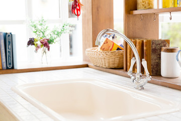 kitchen and water tap image