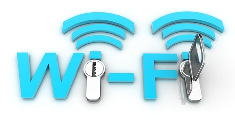 concept of Wi-Fi