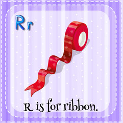 A letter R