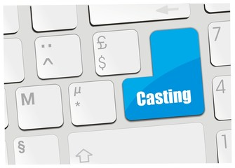 clavier casting
