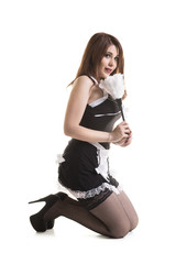 Young Attractive Maid