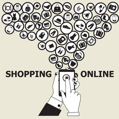 Online Shopping related elements