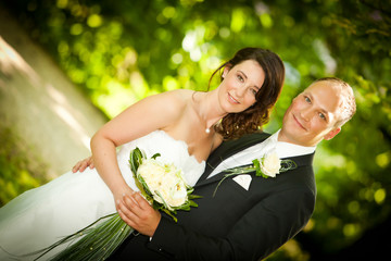 couple after wedding - Hochzeitspaar Portrait