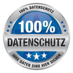 Datenschutz - Ihre Daten sind hier sicher - 100% Datenschutz