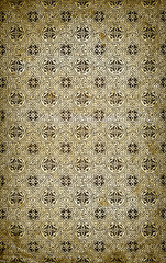 antique faded paper background with pattern