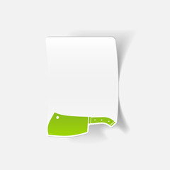 realistic design element: knife