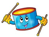 Percussion drum theme image 1