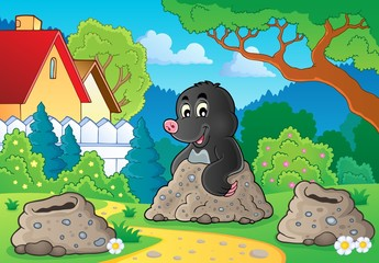 Happy mole theme image 2