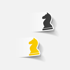 realistic design element: chess