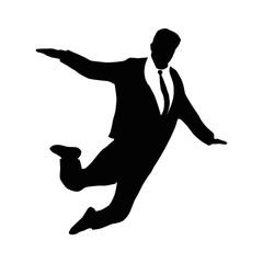 businessman_figure_flying_vector