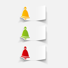 realistic design element: christmas bell