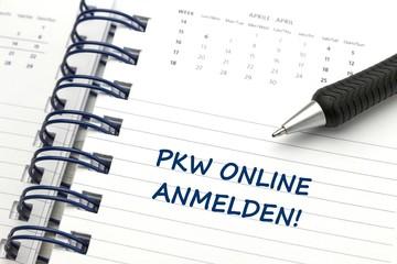 PKW Anmeldung online