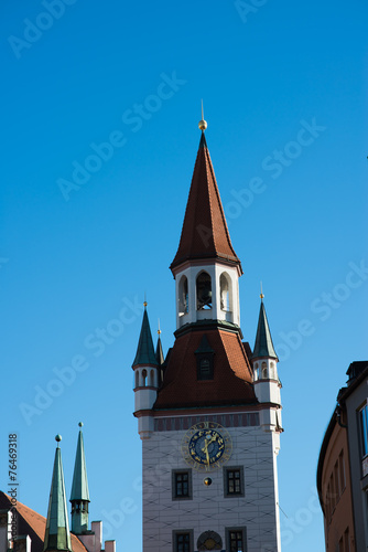 canvas print picture turm