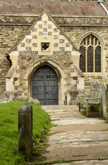 side entrance of All Saints Parish, Hastings