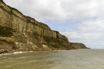 cliffs at  Hastings