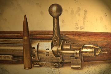 Karabiner Modell 98 mit Munition