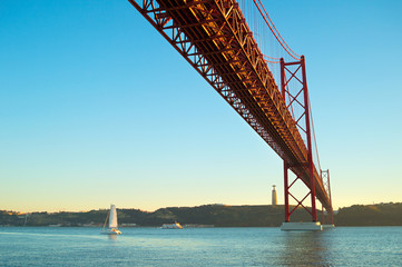Large bridge, Portugal