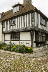 cobble and wattle house at Rye