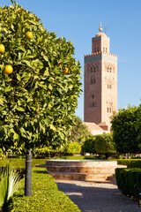 Koutoubia Mosque in Marrakech