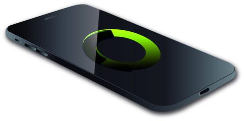 Smartphone Concept Vector Illustration