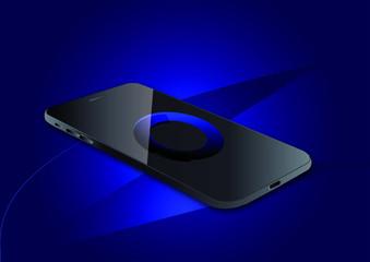 Smartphone Vector Concept illustration